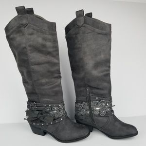 Not Rated Moonshine Knee High Boot -Size 6